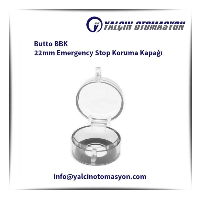 Butto BBK 22mm Emergency Stop Koruma Kapağı