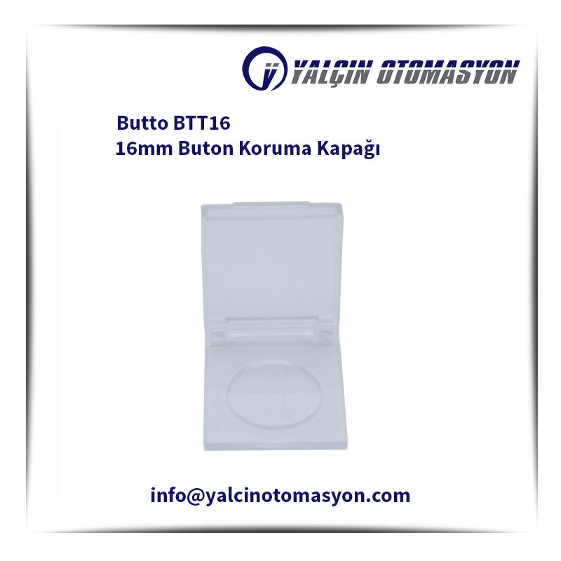 Butto BTT16 16mm Buton Koruma Kapağı