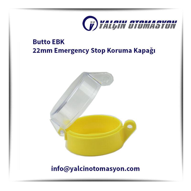 Butto EBK 22mm Emergency Stop Koruma Kapağı