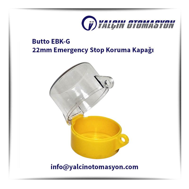 Butto EBK-G 22mm Emergency Stop Koruma Kapağı