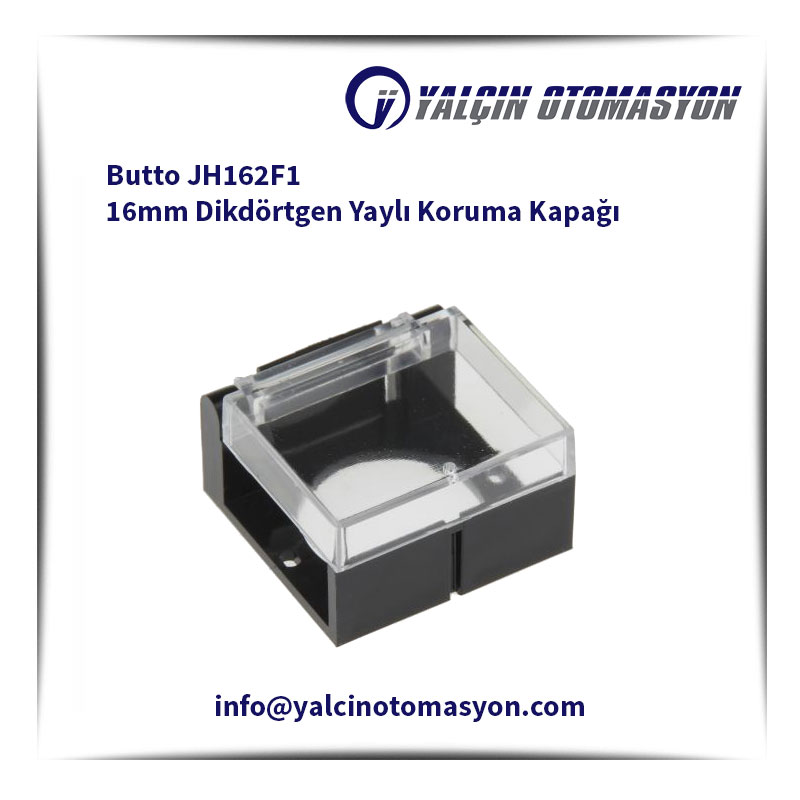 Butto JH162F1 16mm Dikdörtgen Yaylı Koruma Kapağı