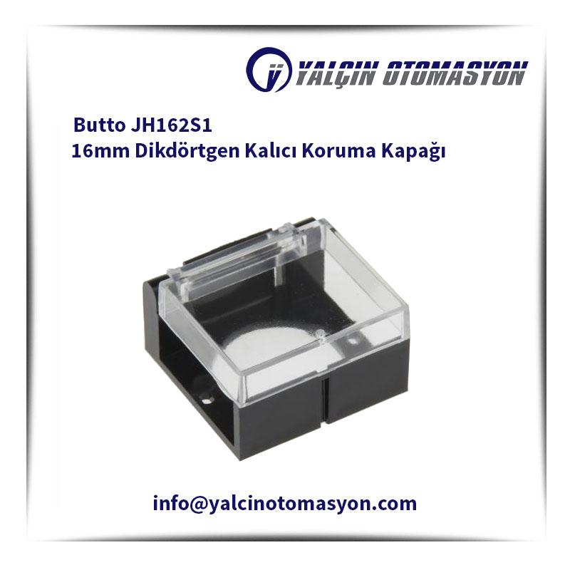 Butto JH162S1 16mm Dikdörtgen Kalıcı Koruma Kapağı