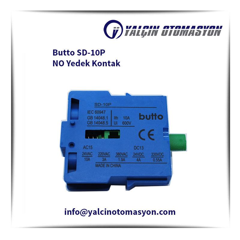 Butto SD-10P NO Yedek Kontak