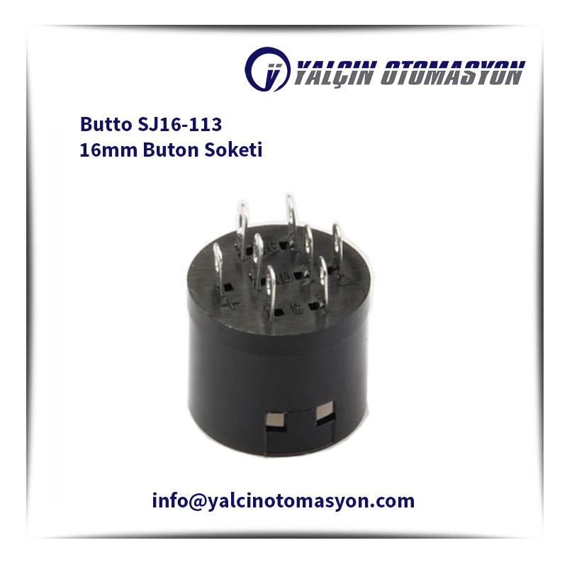 Butto SJ16-113 16mm Buton Soketi