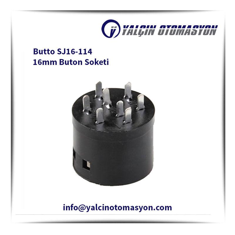 Butto SJ16-114 16mm Buton Soketi