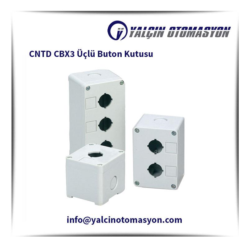 CNTD CBX3 Üçlü Buton Kutusu