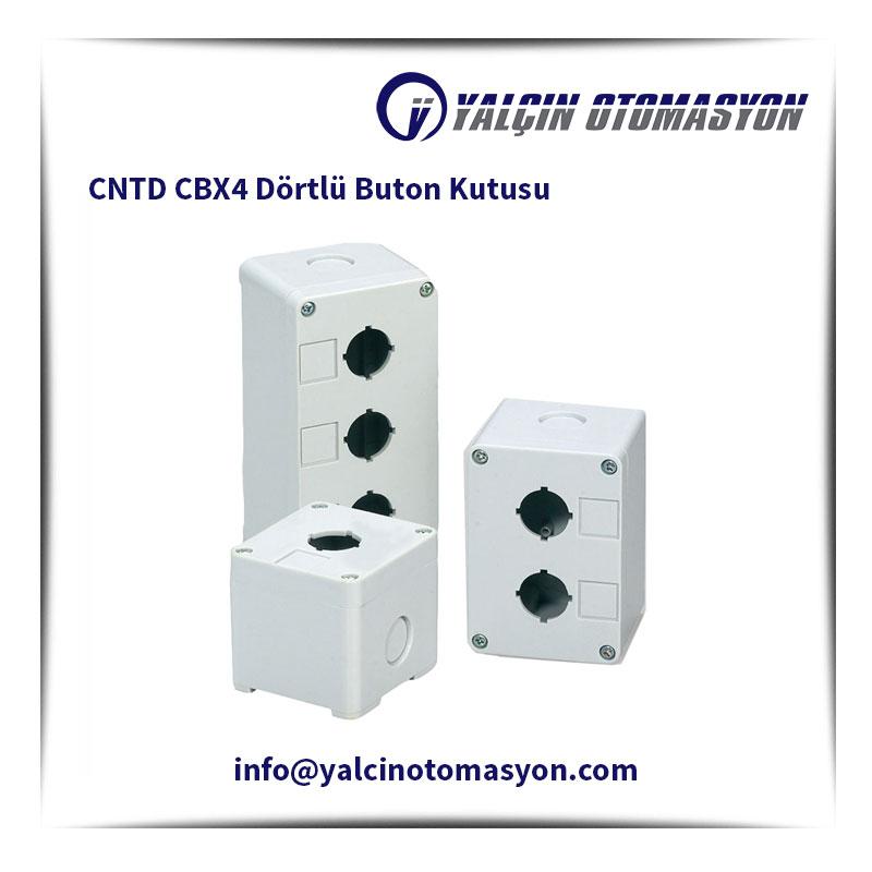 CNTD CBX4 Dörtlü Buton Kutusu