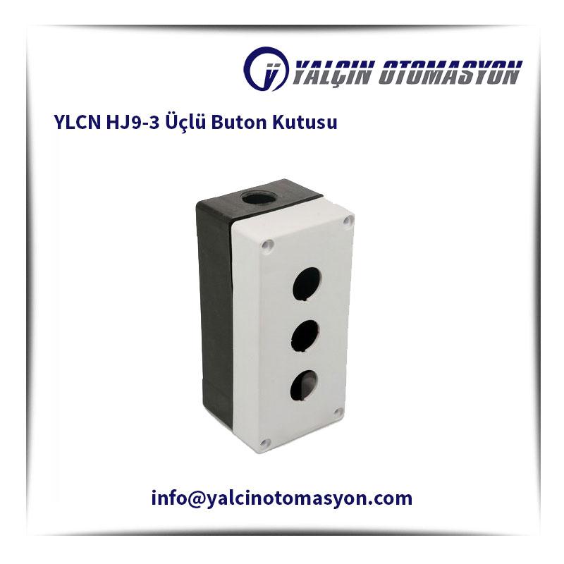 YLCN HJ9-3 Üçlü Buton Kutusu