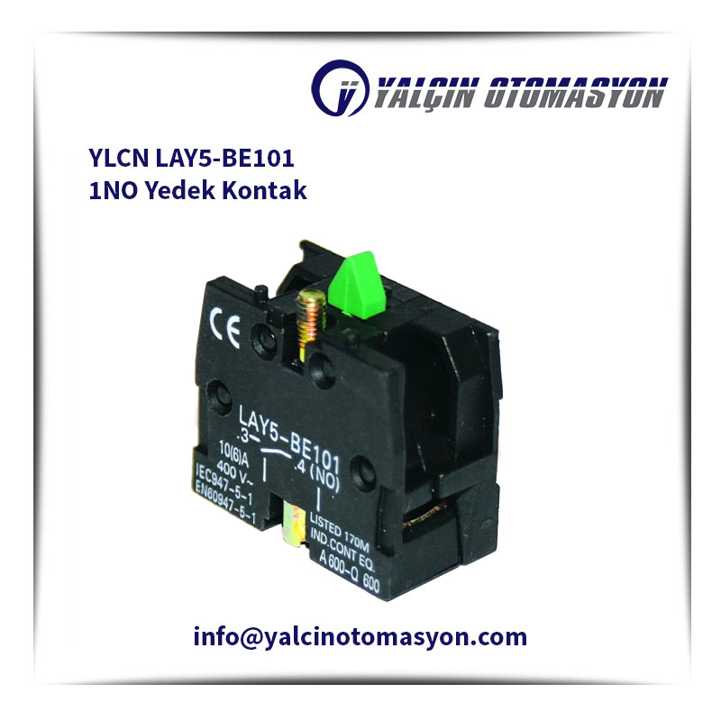 YLCN LAY5-BE101 1NO Yedek Kontak