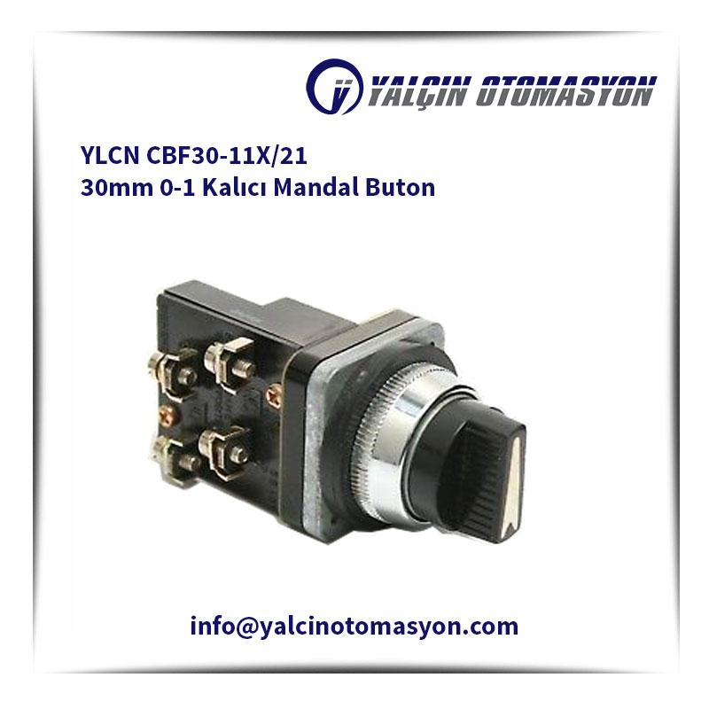 YLCN CBF30-11X/21 30mm 0-1 Kalıcı Mandal Buton