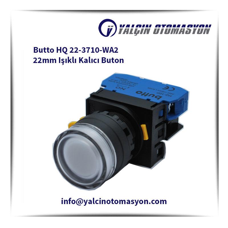Butto HQ 22-3710-WA2 22mm Işıklı Kalıcı Buton