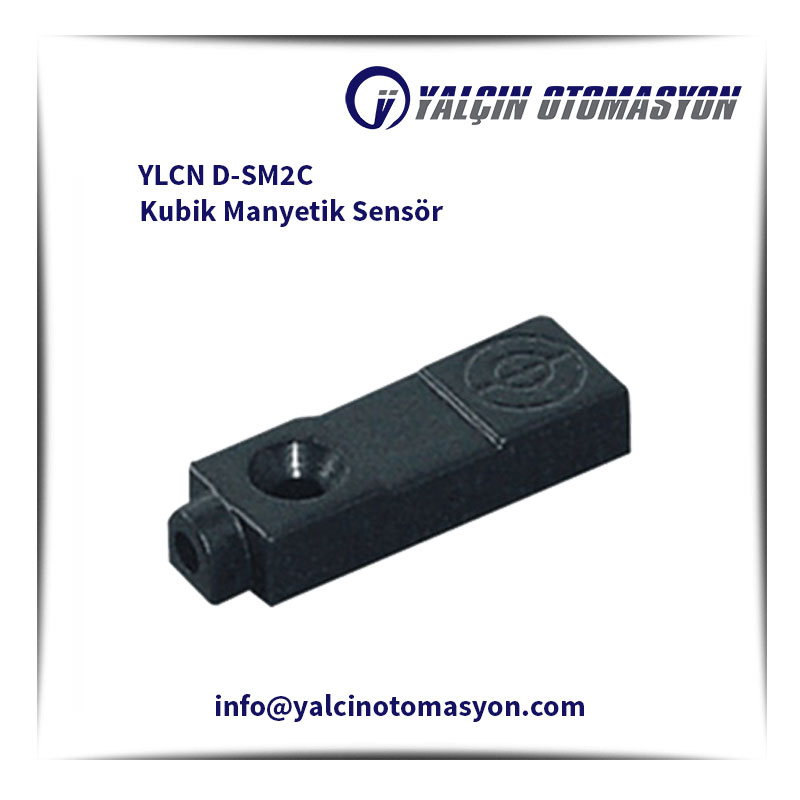 YLCN D-SM2C Kubik Manyetik Sensör