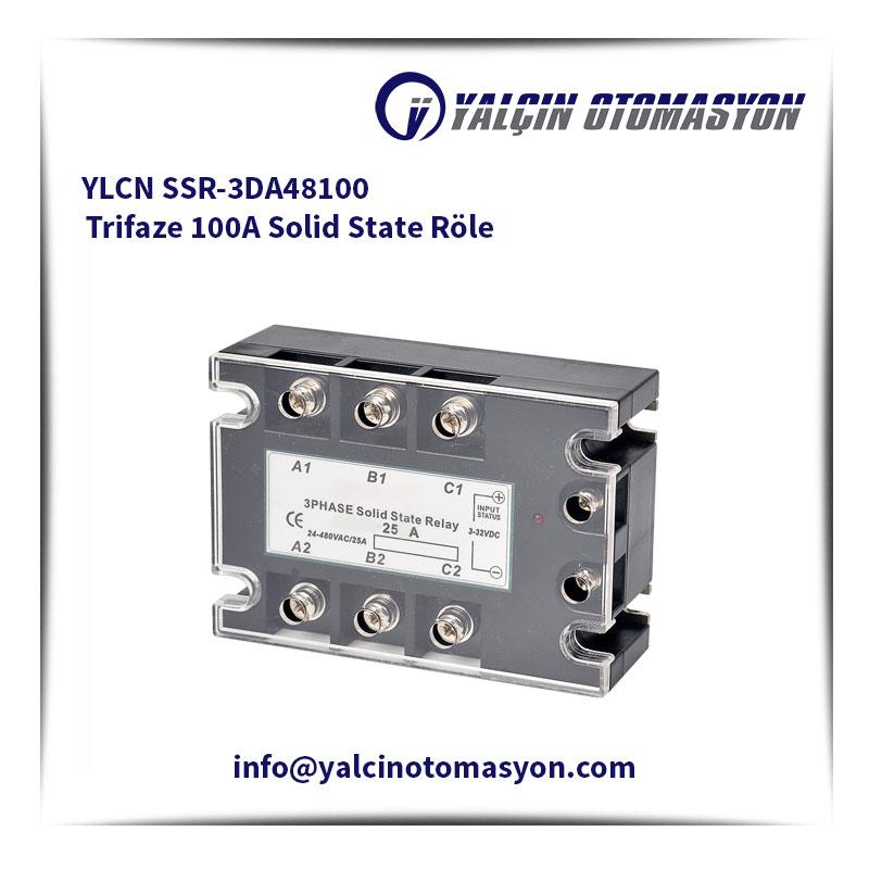 YLCN SSR-3DA48100 Trifaze 100A Solid State Röle