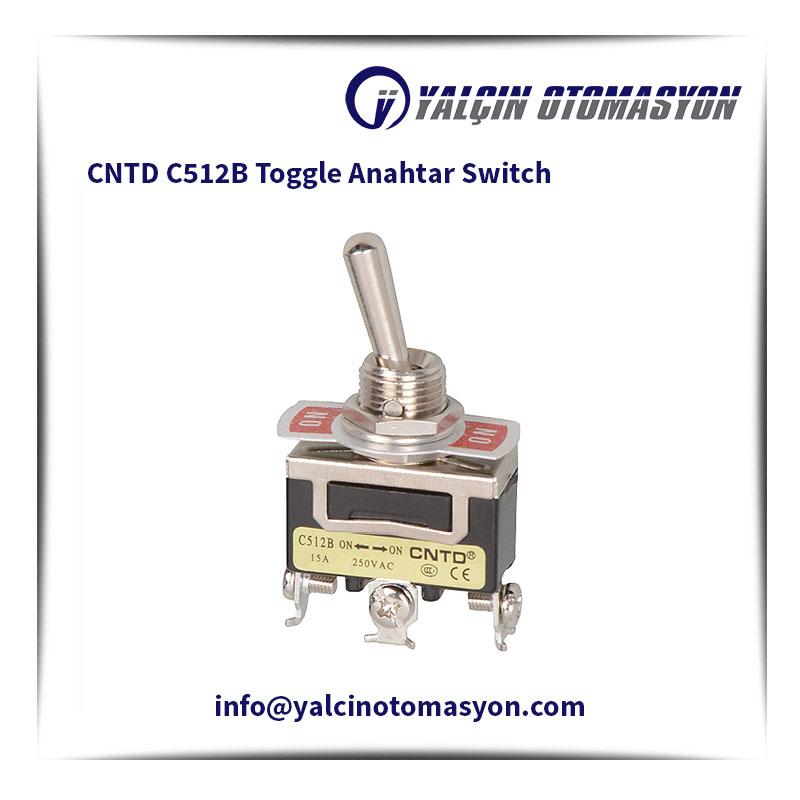 CNTD C512B Toggle Anahtar Switch