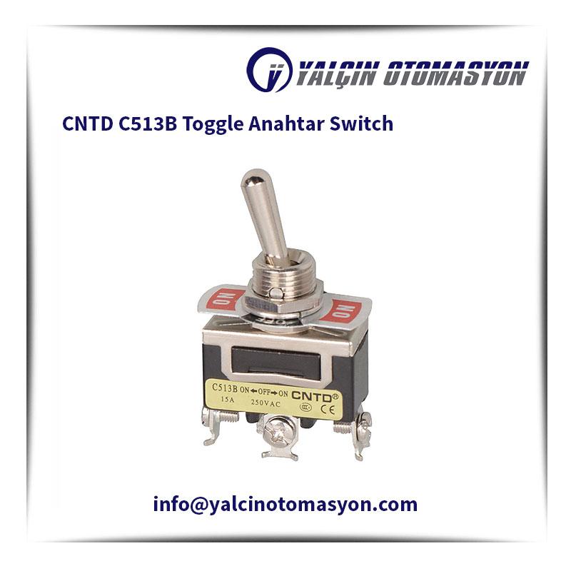 CNTD C513B Toggle Anahtar Switch