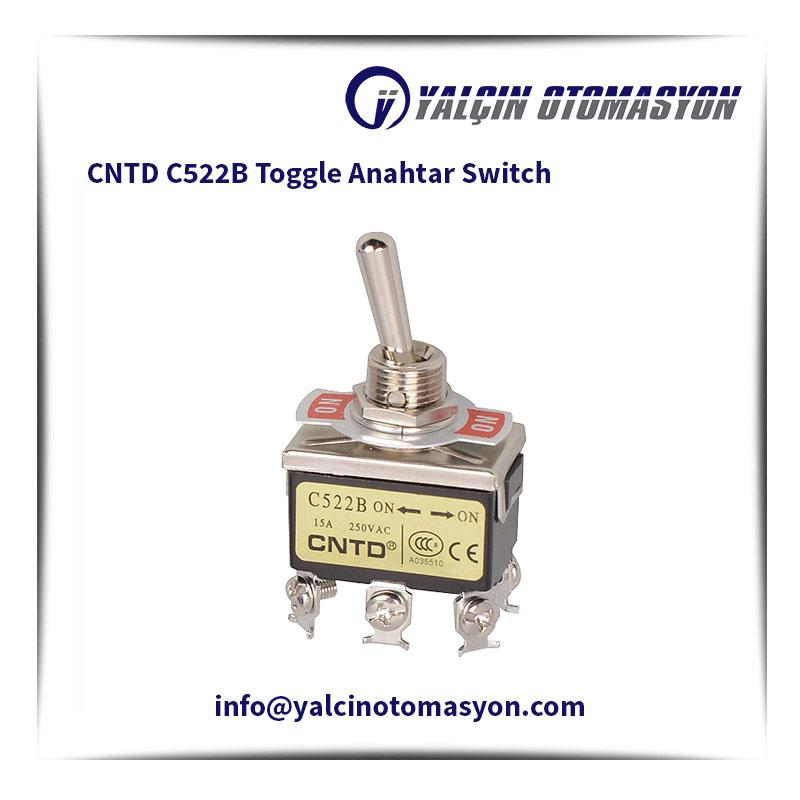 CNTD C522B Toggle Anahtar Switch