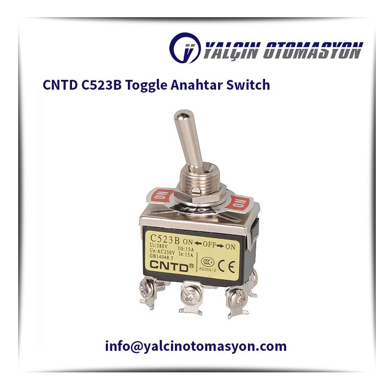 CNTD C523B Toggle Anahtar Switch