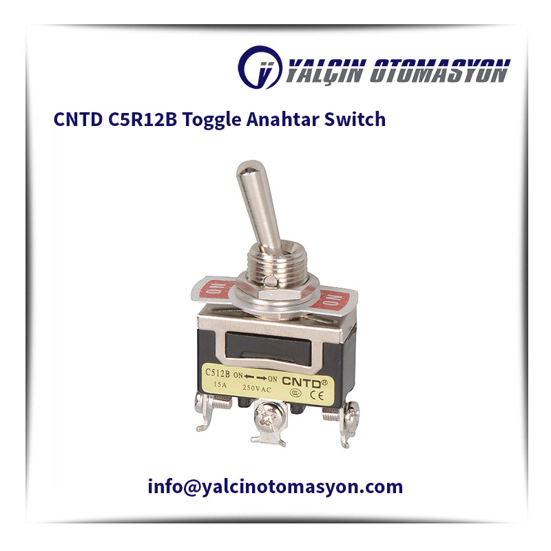 CNTD C5R12B Toggle Anahtar Switch