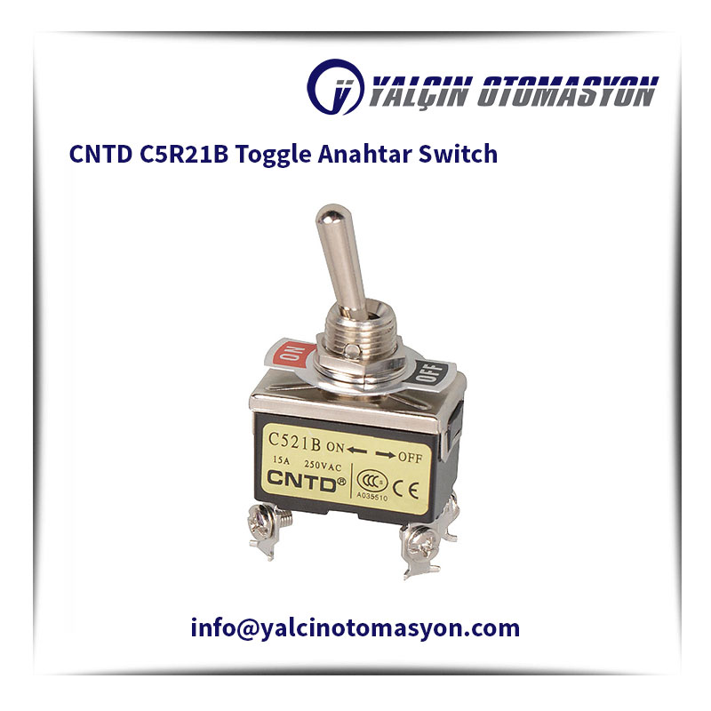 CNTD C5R21B Toggle Anahtar Switch