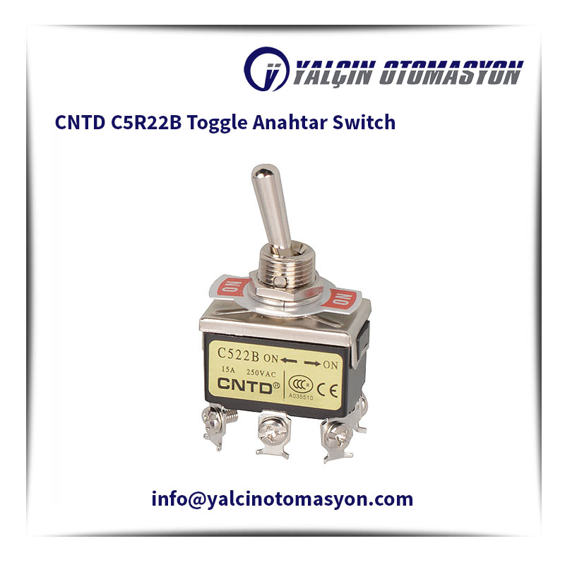 CNTD C5R22B Toggle Anahtar Switch