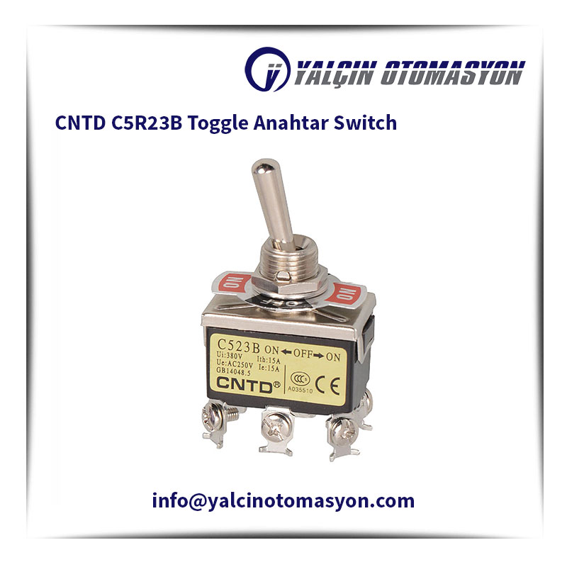 CNTD C5R23B Toggle Anahtar Switch
